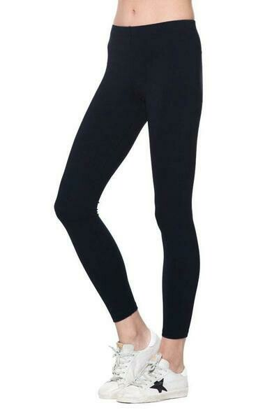"David Lerner  The Classic 8"" Rise Legging"