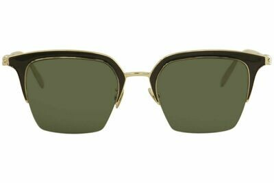 Alexander McQueen Uni-Sex Iconic Gold Sunglasses