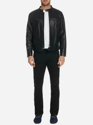 Robert Graham Brando Leather Jacket