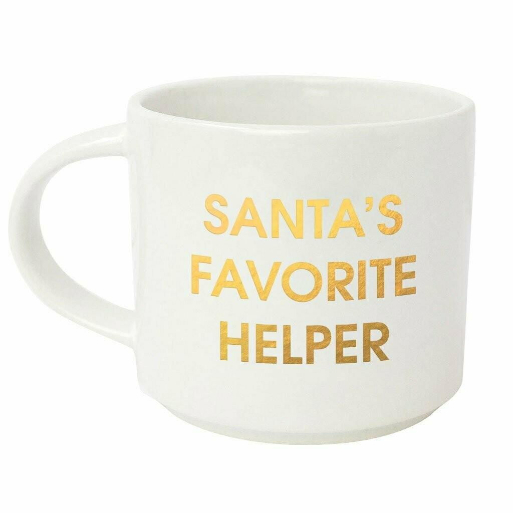 Chez Gagné Santa's Favorite Helper Mug