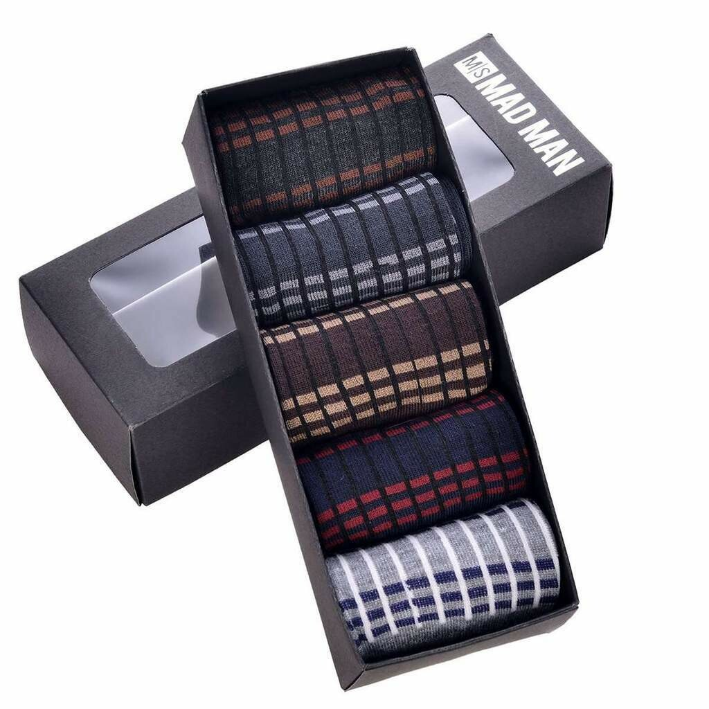 Mad Style Dashed Sock Set in Variety of Colors