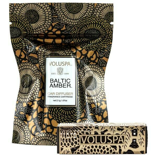 Voluspa Baltic Amber Travel Diffuser