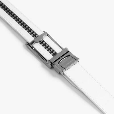 Slide Belt in White
