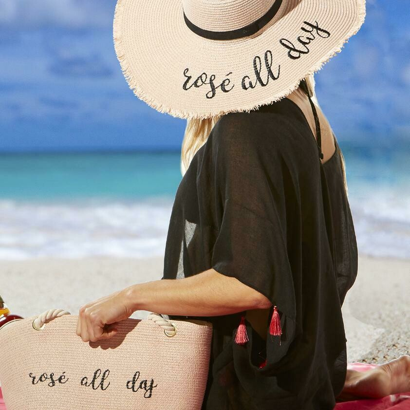 Jackie Z Rose All Day Hat
