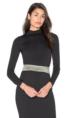 Ada Wrap Belt in Grey