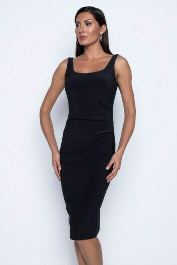Frank Lyman Sheath  Dress In Black
