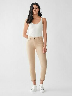 DL 1961 Florence Crop Mid Rise Skinny in Vacarro