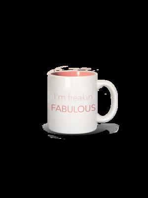 LA Trading Company I'm Freakin Fabulous Mug