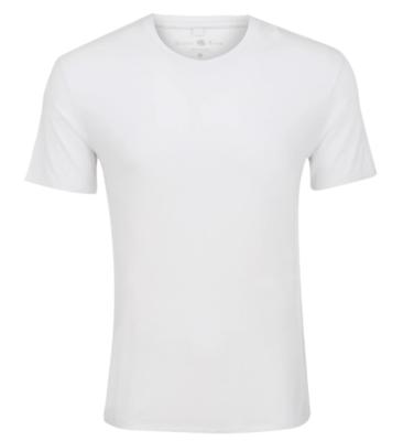 Stone Rose White V-Neck Modal T-Shirt