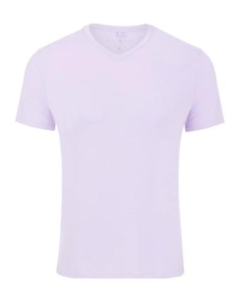 Stone Rose Lavender V-Neck Modal T-Shirt
