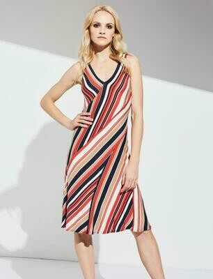 Bailey 44 Helena Dress in Multi Colored Stripes