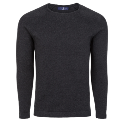 Stone Rose Grey Heather Knit Sweater