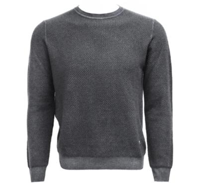 Stone Rose Grey Merino Sweater