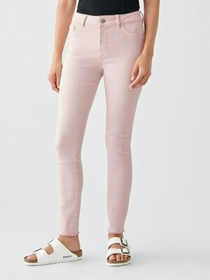 DL 1961 Florence Ankle Mid Rise Skinny In Camellia