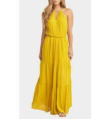 Tart Collections Johana Maxi Dress in Lemon Curry