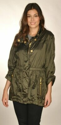 Ciao Milano Raincoat in Olive
