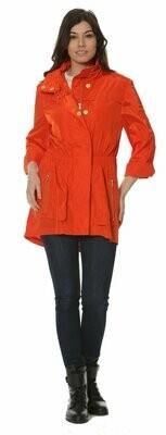 Ciao Milano Tifani Jacket in Hermes Orange