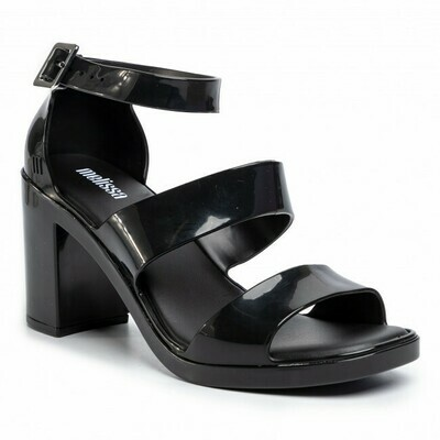 Melissa Model AD Block Heel Platform Sandal in Black