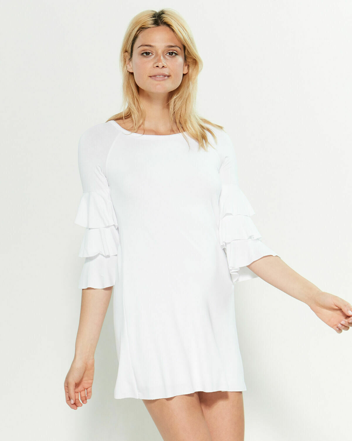 Bailey 44 Dovetail Dress in White