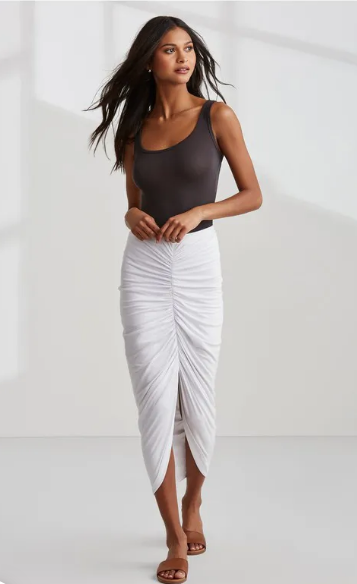Bailey 44 Santorini Skirt in White