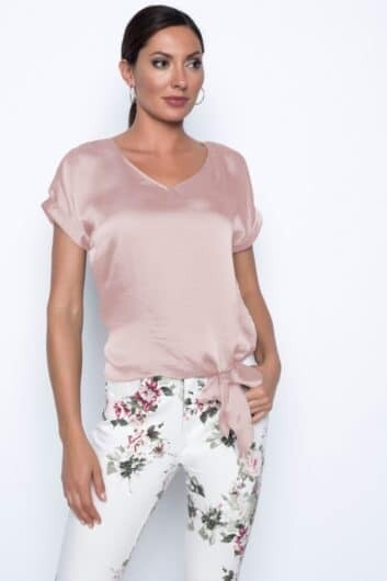 Frank Lyman Relaxed Blouse in Blush