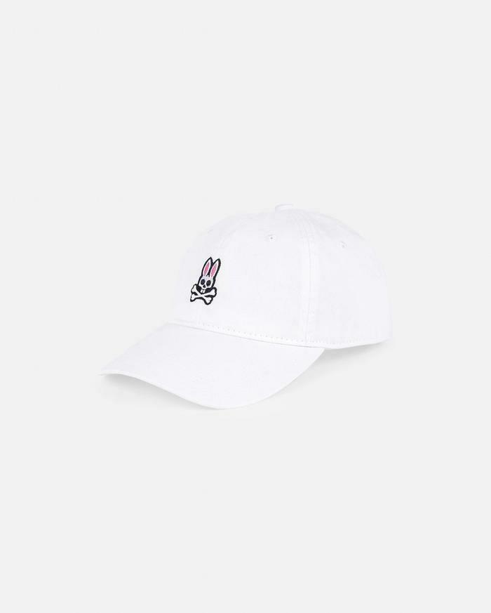 Psycho Bunny Men's Hat in White