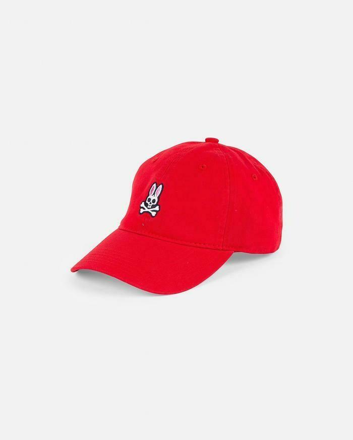 Psycho Bunny Men's Hat in Red