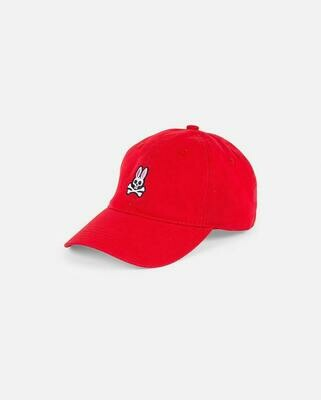 Psycho Bunny Men's Hat in Red