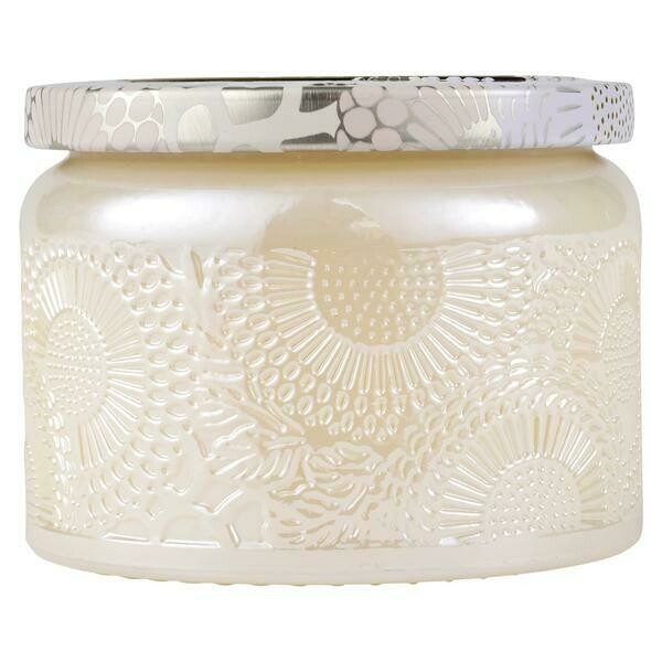 Voluspa Santal Vanille Small Glass Jar Candle