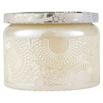 Voluspa Santal Vanille Small Glass Jar Candle
