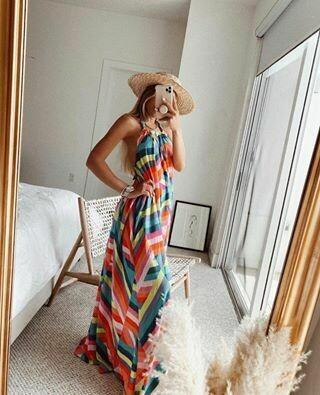 Elan Long Maxi Dress