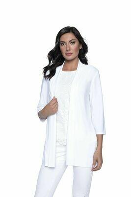 Frank Lyman Knit Jacket In Off White
