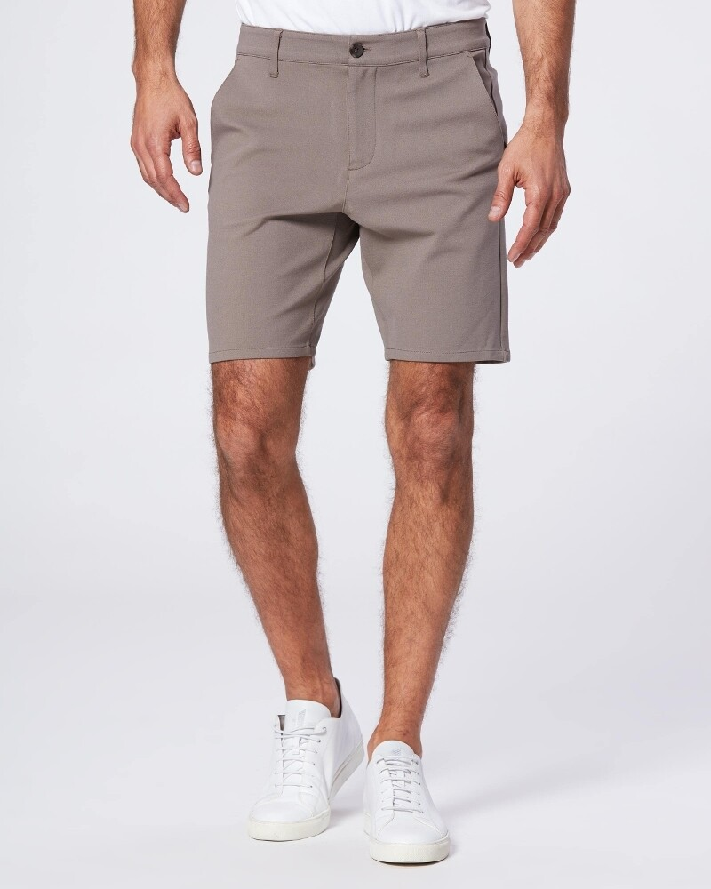 Paige Rickson Trouser Short in Dark Taupe