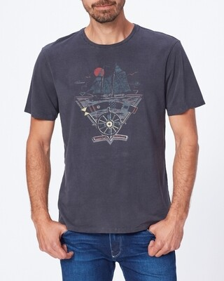 Paige Hoover Sail Away Crew Neck T-Shirt