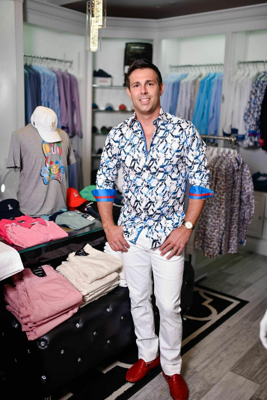 """Jackie Z Men's Dress Shirt Summer 2020 """"Mark"""""""