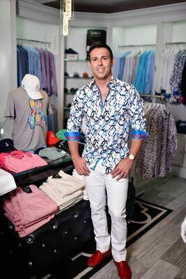 Jackie Z Men's Dress Shirt Summer 2020