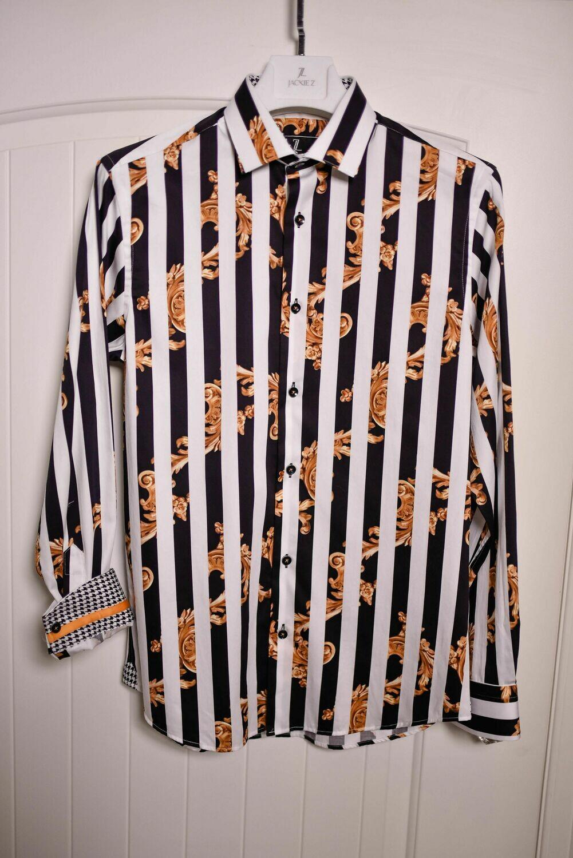 """Jackie Z Men's Dress Shirt Summer 2020 """"Versaille"""""""