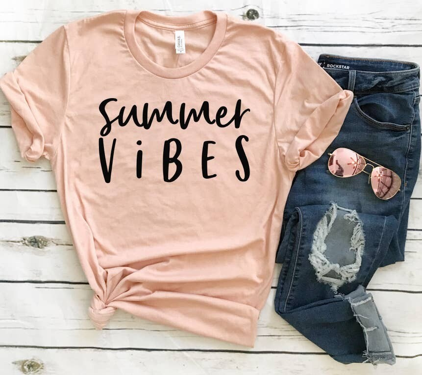 Summer Vibes Tee Shirt