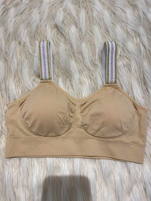 Strap-Its Shimmer Bra In Nude