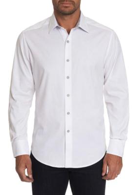 Robert Graham Andretti Woven Shirt In White