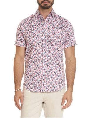 Robert Graham Lazarus Woven Shirt In Multi