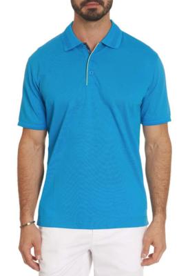 Robert Graham Champion Performance Polo Shirt in Blue