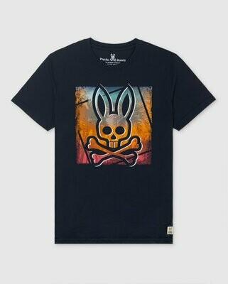Psycho Bunny Strom Tee In Navy