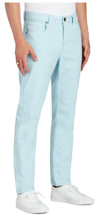 Monfere Deniro St. Barths Jean in Light Blue