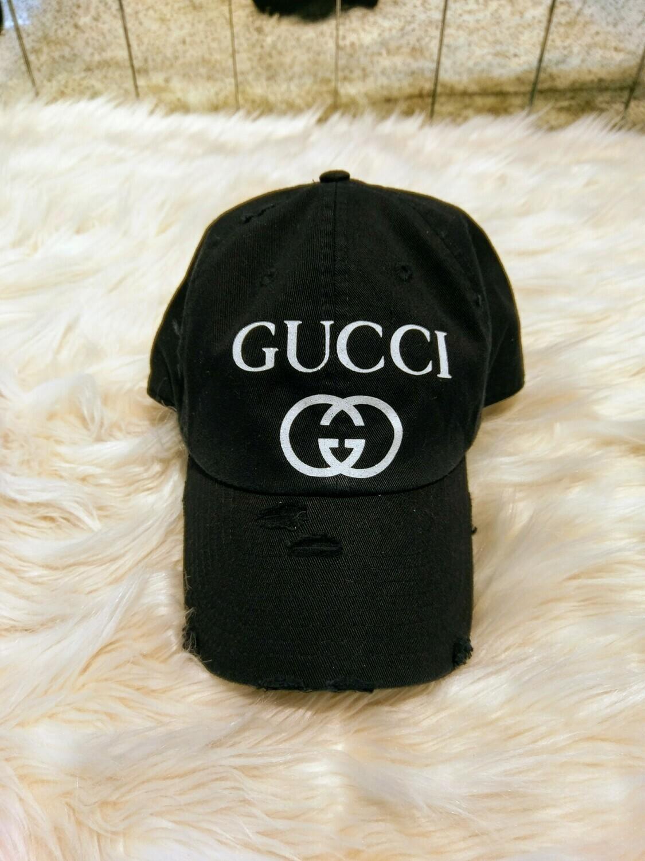 Designer GG Baseball Hat in Black