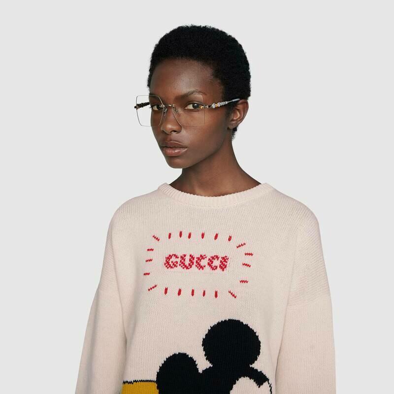 Gucci Sunglass Woman Metal