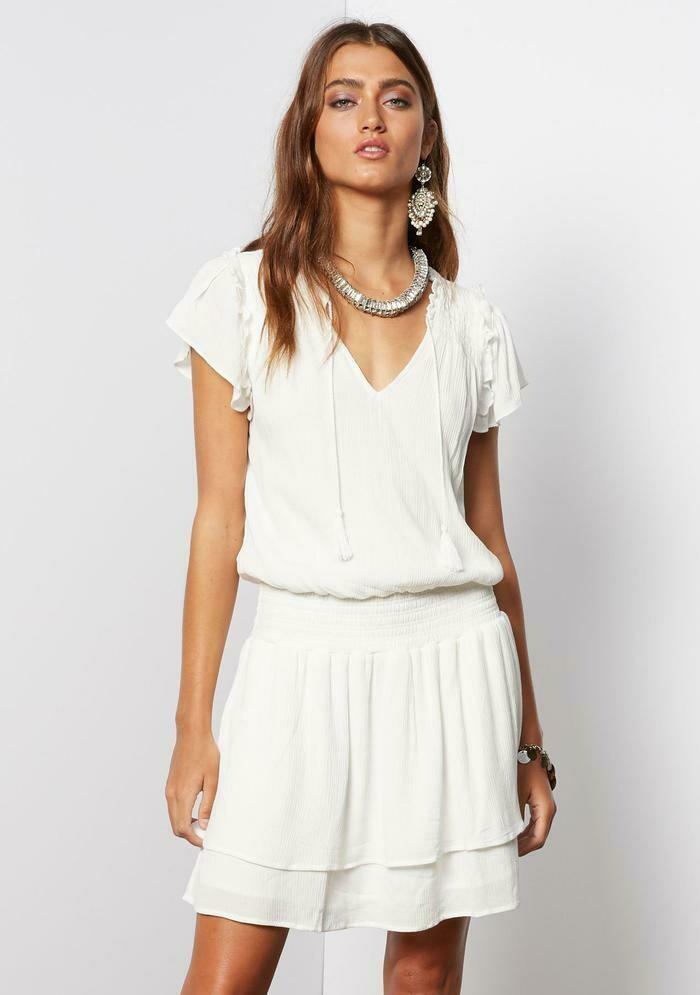 Tart Collections Yara Dress in White