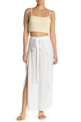 Elan Pants Wrap in White