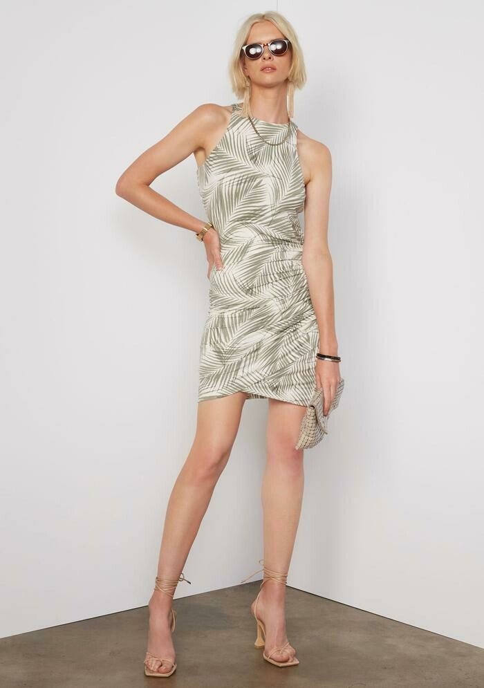 Tart Collections Edie Dress In Palm