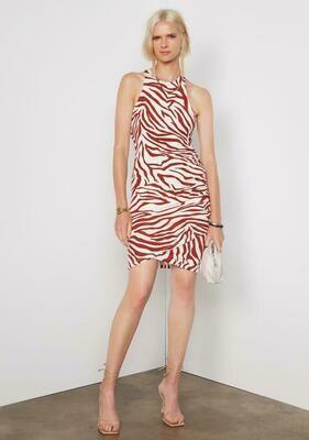 Tart Collections Edie Dress In Zebra